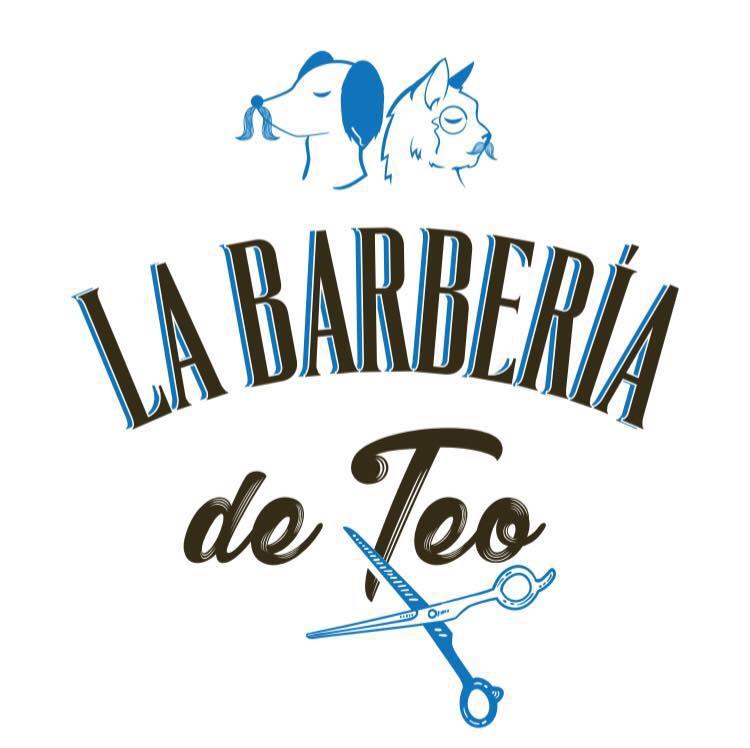 Barberia De Teo Logo Azul